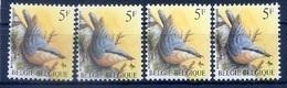 BUZIN  Papier + Kleur Variaties * Nr 2294 * P6a + Groene + Gele Gom + NOVARODE * Postfris Xx * - 1985-.. Pájaros (Buzin)