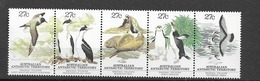 1982 MNH Australian Antactic Territory, Mi 55-59, Postfris** - Australisches Antarktis-Territorium (AAT)