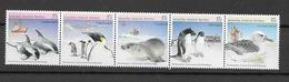 1988 MNH Australian Antactic Territory, Mi 79-83, Postfris** - Australisches Antarktis-Territorium (AAT)