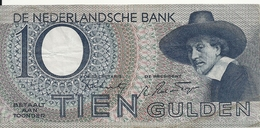 PAYS-BAS 10 GULDEN 1944 VF P 59 - [2] 1815-… : Kingdom Of The Netherlands