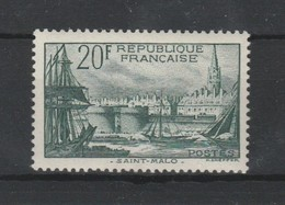 PMo - France  394  St.Malo ** 1938 TTB (cote 100.00) - Unused Stamps