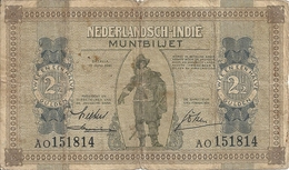 INDES NEERLANDAISES 2 1/2 GULDEN 1940 VG+ P 109 - Indes Neerlandesas