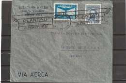 Argentina PLANTAD ARBOLES AIRMAIL COVER To Switzerland 1934 - Poste Aérienne