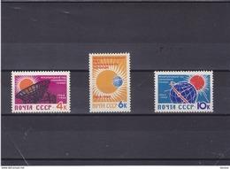 URSS 1964 Année Internationale Du Soleil Calme Yvert 2768-2770 NEUF** MNH - 1923-1991 URSS