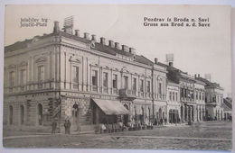Kroatien Brod An Der Save, Slavonski Brod 1914  - Croatia