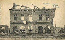DIXMUDE- La Gare EERST WERELDOORLOG BELGIË BELGIQUE 1914/18 WWI WWICOLLECTION - Guerre 1914-18