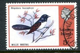 Solomon Islands 1976 Birds And Shells - 5c Value Used (SG 309) - Islas Salomón (...-1978)