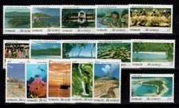 """Vanuatu - Serie """"the Scenery"""" Complete N** De 1993 - SG 628 à 643 / Mi 919 à 934 - Vanuatu (1980-...)"""