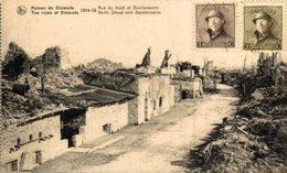 DIXMUDE- Rue Du Nord Et Gendarmerie EERST WERELDOORLOG BELGIË BELGIQUE 1914/18 WWI WWICOLLECTION - Guerre 1914-18