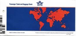 Lot De 9 Tickets D'avion Bruxelles - Oslo - Bruxelles (1992-1994) - Tickets