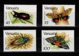 Vanuatu - YV 784 à 787 Complete N** Insectes & Papillons - Vanuatu (1980-...)