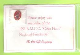 Pin's Coca-Cola R.M.C.C. Ronald McDonald Children Charity - #066 - Coca-Cola