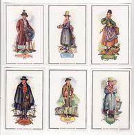 Chromo  SUCHARD    Lot De 17     Costumes     10.2 X 6.7 Cm - Suchard