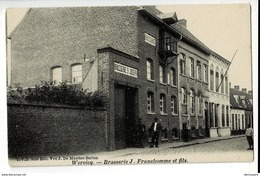 52712 -  WERVIK - WERVICQ BRASSERIE J FRANCHOMME ET FILS - Wervik