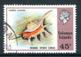 Solomon Islands 1976 Birds And Shells - 45c Value Used (SG 317) - Islas Salomón (...-1978)