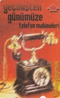 Turkey, TR-TT-N-0132, Bindokuzyüzyirmiiki - 1922, Telephone Sets From Past Till Present 2, 2 Scans, - Turchia