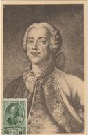 Carte Maximum BELGIQUE  N°Yvert 574 (CHARLES De LORRAINE)  (timbre Collé Sur Carte) - Maximumkarten (MC)