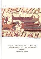 DOCUMENT ENCART FDC 1987 GUILLAUME LE CONQUERANT - Documenten Van De Post