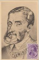 Carte Maximum BELGIQUE  N°Yvert 576 (CHARLES QUINT)  (timbre Collé Sur Carte, Tableau Du Titien) - Maximumkarten (MC)