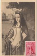 Carte Maximum BELGIQUE  N°Yvert 577 (JEANNE De CASTILLE)  (timbre Collé Sur Carte) - Maximumkarten (MC)