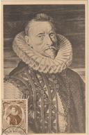 Carte Maximum BELGIQUE  N°Yvert 581 (ARCHIDUC ALBERT)  (timbre Collé Sur Carte, Tableau D'après Rubens)) - Maximumkarten (MC)