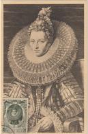 Carte Maximum BELGIQUE  N°Yvert 582 (ARCHIDUCHESSE ISABELLE)  (timbre Collé Sur Carte, Tableau D'après Rubens)) - Maximumkarten (MC)