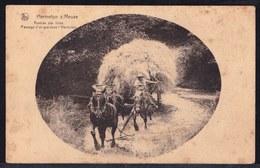 HERMETON SUR MEUSE - RENTREE DES FOINS - PASSAGE D'UN GUE DANS L'HERMETON - EDIT.A.DUMONT - Pas Voyagée - Bauern