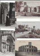 Lot De 1000 Cartes D'Arles Et D'Aix En Provence - 500 Cartoline Min.