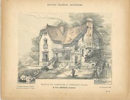 PETITES MAISONS MODERNES - Maison De Campagne à APPOIGNY (Yonne) - Architecture  - Rivoalen - Architecte F.Bertrand - Architecture