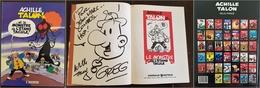 ACHILLE TALON Le Monstre De L'étang Tacule! Dédicace Au Feutre De GREG. Edition Originale 1989 - Achille Talon