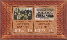 LITAUEN 1999 Mi-Nr. Block 16 ** MNH - Lithuania