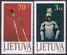 LITAUEN 1999 Mi-Nr. 712/13 ** MNH - Lituanie