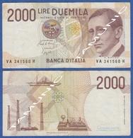 ITALY ITALIA 2000 Lire 1990 GULIELMO MARCONI And NARCONIS YACHT,TELEGRAPH.TRANSMISSION DECRETO 3 OTTOBRE 1990 - 2000 Lire