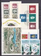 BRD - 1968/91 - Block -  Sammlung  - Postfrisch/Gest. - BRD