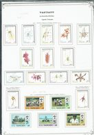 Vanuatu - 1981/88 - Collection Sur Feuilles Du 635 Au 821 + Blocs-feuillet 2 - 4/11 - Neufs X Charnières Propres - TB - - Vanuatu (1980-...)