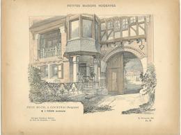 PETITES MAISONS MODERNES - Petit Hôtel à COURTRAI (Belgique) - Architecture  - Rivoalen - Architecte J.Viérin - Architecture