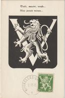 Carte Maximum BELGIQUE N°Yvert 675 (VICTOIRE - LIBERATION) Obl 1945 - Maximumkarten (MC)
