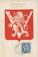 Carte Maximum BELGIQUE N°Yvert 676 (VICTOIRE - LIBERATION) Obl Sp 1945 - Maximumkarten (MC)
