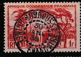 GUINEE YT 139 Oblitéré KOUROUSSA 30 Janvier 1939 - Usados