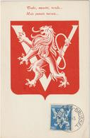 Carte Maximum BELGIQUE N°Yvert 676 (VICTOIRE - LIBERATION) Obl 1945 - Maximumkarten (MC)