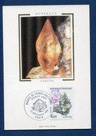 France - Carte Maximum - Calcite - Nature De France - Minéraux - 1986 - Cartes-Maximum