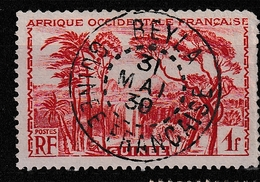 GUINEE YT 139 Oblitéré BAYLA 31 Mai 1930 - Usados