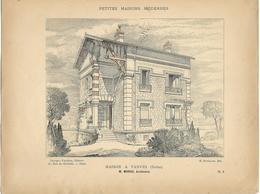 PETITES MAISONS MODERNES - Maison à VANVES (Seine) - Architecture  - Rivoalen - Architecte M.Monod - Architecture
