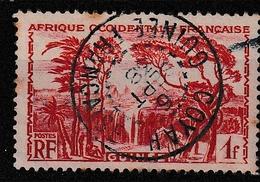 GUINEE YT 139 Oblitéré COYAH 6 Sept 1938 - Usados