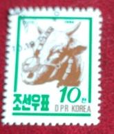 Vache (Animaux) - Corée Du Nord - 1990 - Corée Du Nord