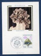 France - Carte Maximum - Marcassite - Nature De France - Minéraux - 1986 - Cartes-Maximum