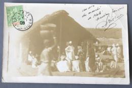 Soudan Français CORPS EXPEDITIONNAIRE Timbre Sénégambie Et Niger N°4 - TAD KATI 1906 Sur CPA - (W1589) - Sénégambie Et Niger (1903-1906)