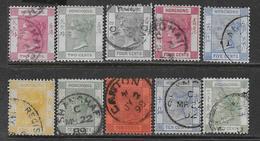 Hong Kong  10 TP Entre YT 33 Et 44 Neufs* Et Oblitérés (voir Description). - Used Stamps