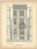 PETITES MAISONS MODERNES - Petit Hôtel à FOREST-BRUXELLES - Architecture  - Rivoalen - Architecte De Koch - Arquitectura