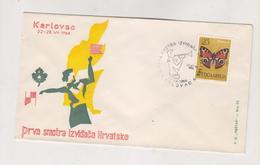 YUGOSLAVIA,1964 KARLOVAC BOYSCOUT Nice Cover - 1945-1992 Sozialistische Föderative Republik Jugoslawien